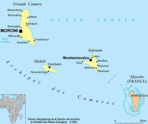 Carte du Comores