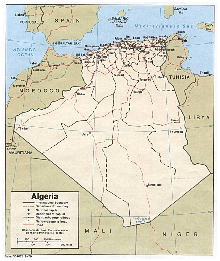 carte-politique-algerie