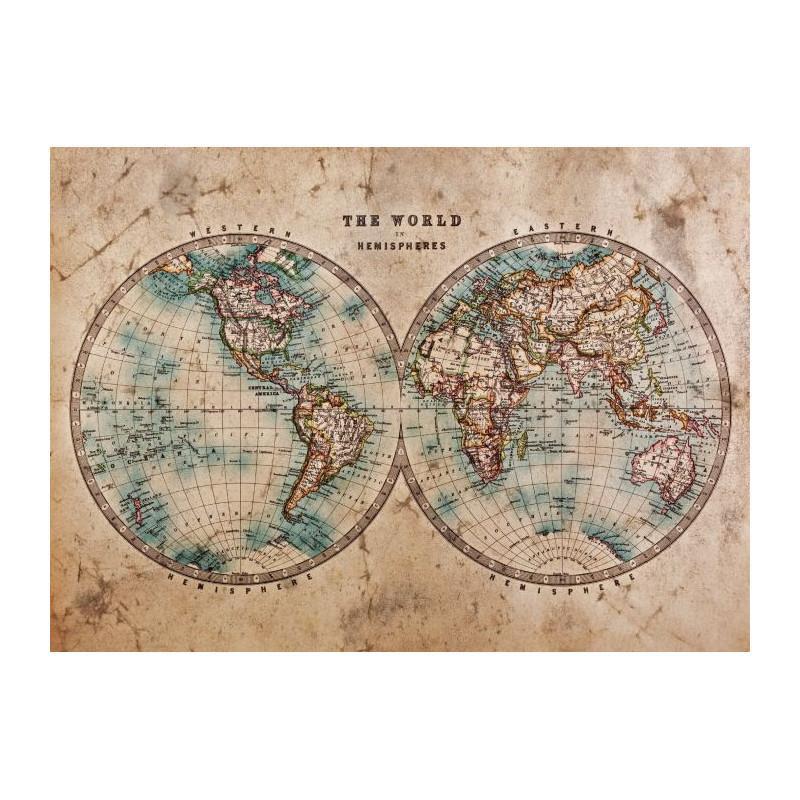 Carte du monde Scenolia
